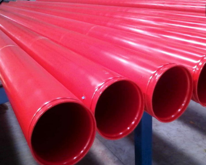 Round SSAW 3LPE Plastic Coated Oil Pipe , 610MM SCH 10 Painting Steel Pipe