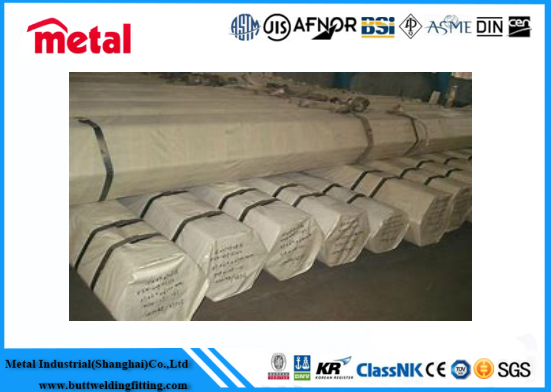 Thick Wall High Pressure Boiler Tube ASTM A213 T22 OD 44.5mm x 4.5mm x 6 - 7 Mtr PE