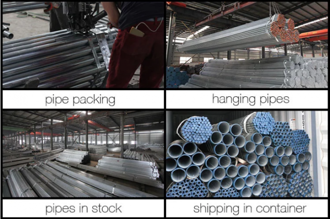 Hot Dipped Zinc Coated Steel Pipe , 6 '' SCH120 Q195 Galvanized Square Tubing