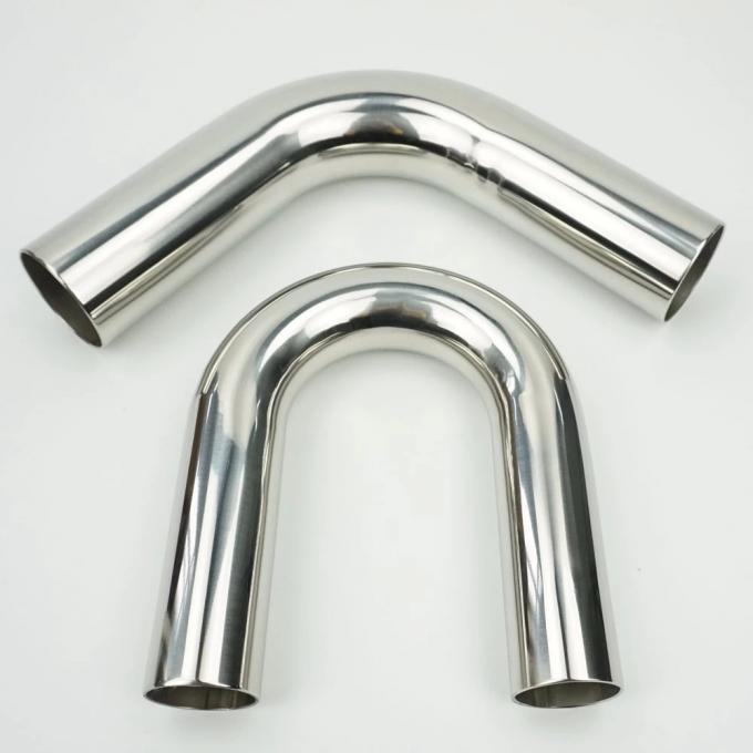 SCH 80 U Bent Round Steel Tubing , 3mm Thickness Stainless Steel Welded Pipe